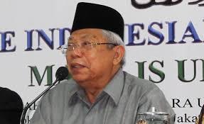 Gantikan Din, KH Ma'ruf Amin Terpilih Jadi Ketua MUI