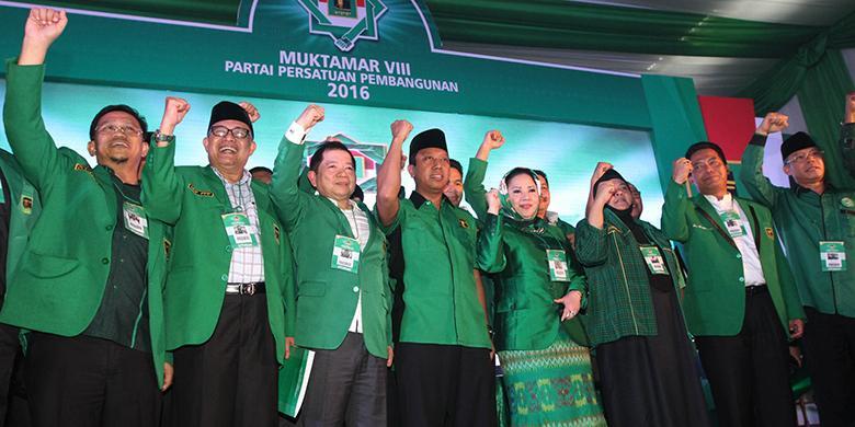 M Romahurmuziy Terpilih Ketum PPP Periode 2016-2021