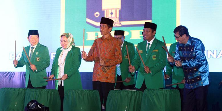 Presiden Jokowi Menghadiri Pembukaan Muktamar VIII PPP