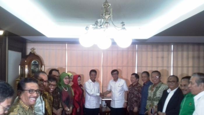 DPP PPP Mendaftarkan Kepengurusan Hasil Muktamar VIII ke MENKUNHAM
