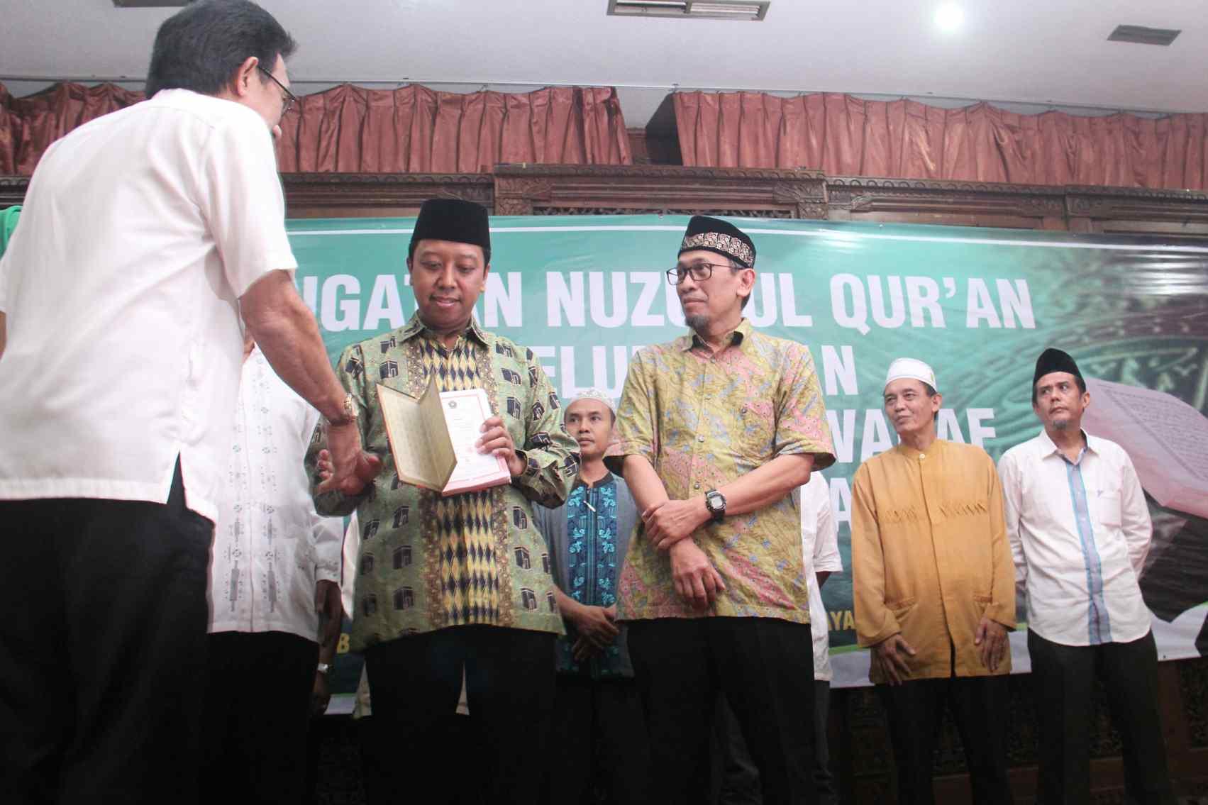 PPP Mencanangkan Gerakan Waqaf 10 Juta Al Qur'an