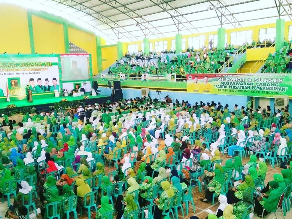 Muscab PPP VIII Jombang Di Hadiri Oleh Bupati dan Wabub