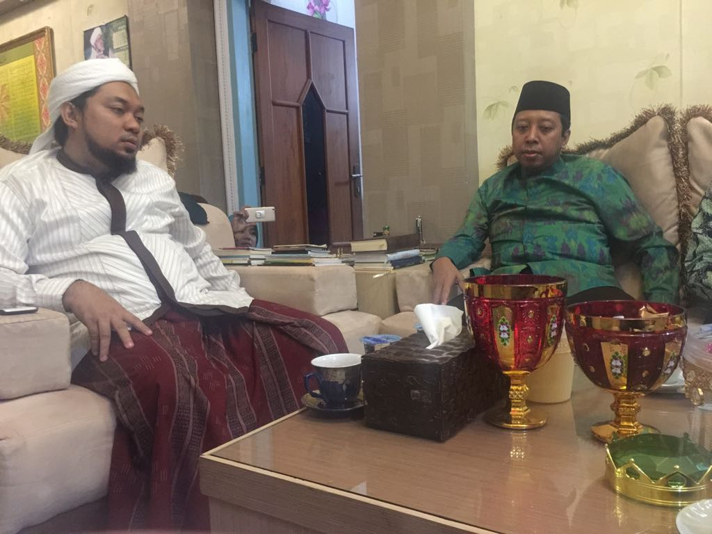 DPP Beserta DPW dan DPC PPP Sowan Di Ponpes Salafiyah Syafi'iyah Sukorejo