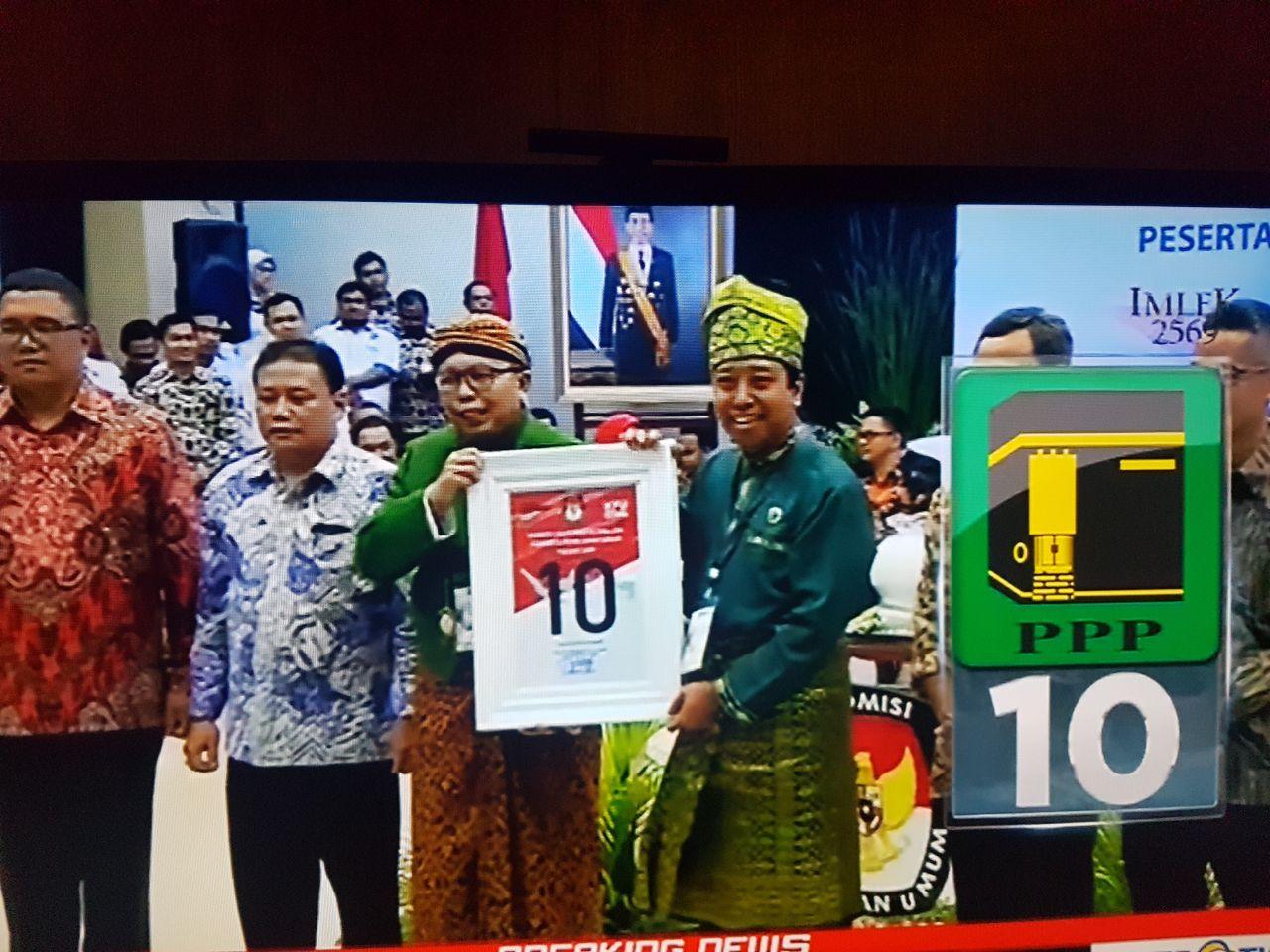 Ketua Umum PPP Gus ROMY Mengatakan No 10 Memiliki Makna Istimewa.