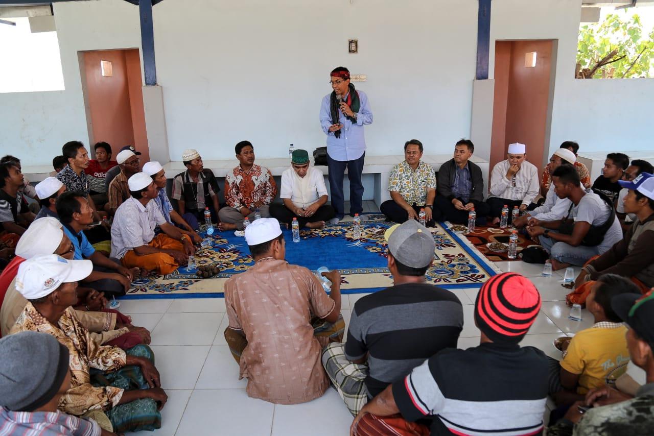 FPPP MAHDI SE., SH  Reses ke Pulau Gili Ketapang