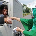 Kader PPP Bagikan 3 Ribu Masker ke Warga Situbondo