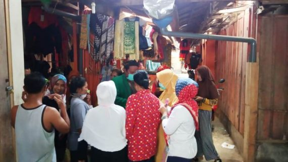 Cegah Covid-19, Tarkiyat PPP Bagi Ribuan Masker Gratis