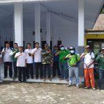 PPP Bondowoso Lakukan Penyemprotan Desinfektan di Fasilitas Umum