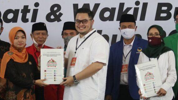 KPU Kediri Sahkan Anak Pramono Anung Lawan Kotak Kosong di Pilkada