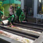 Harlah PPP ke 48, DPC PPP Ziarah Bersama ke Makam KH Bisri Syansuri, Pencetus Lambang Ka'bah